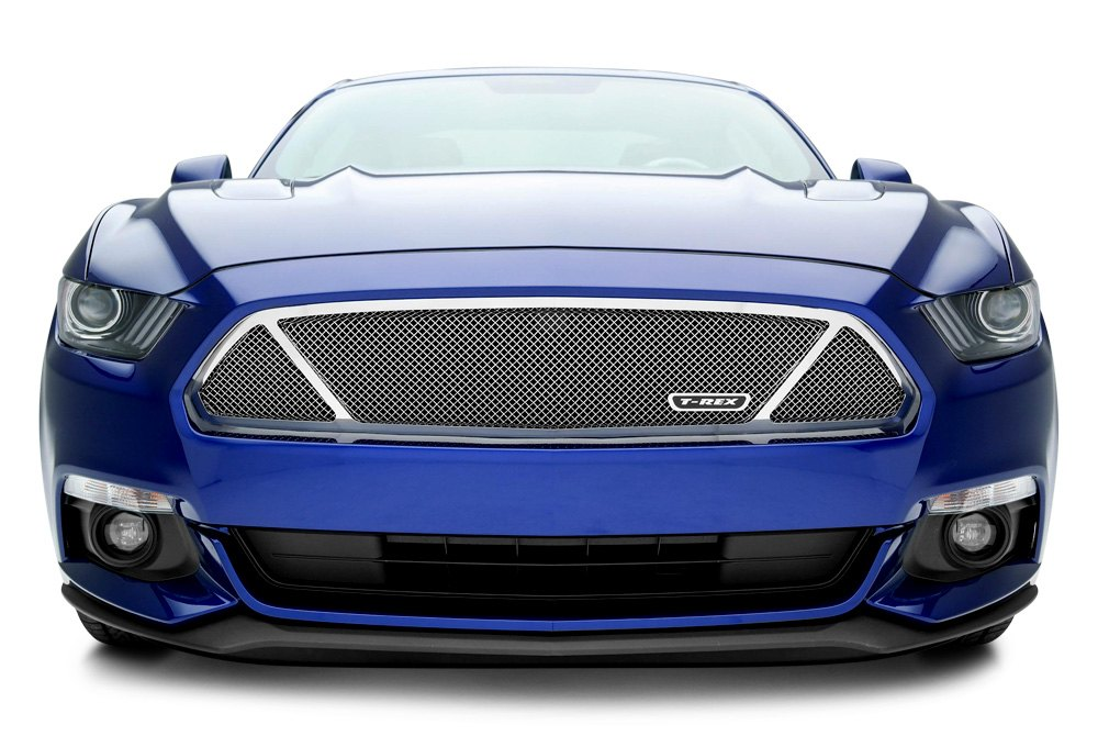 Upper Class Mesh Grille on Ford Mustang