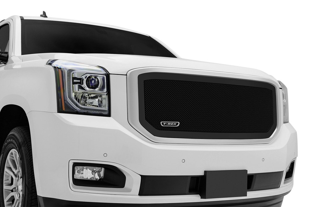 Upper Class Mesh Grille on GMC Yukon