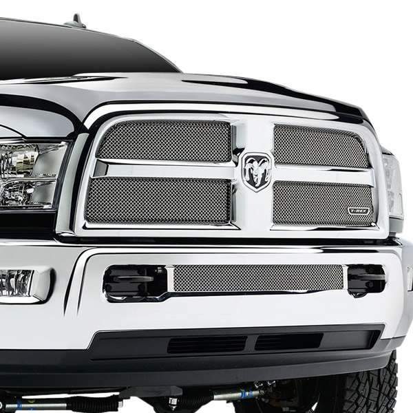 Rex® - Sport Series 4-Pc Look Triple Chrome Plated Formed Mesh Main ...