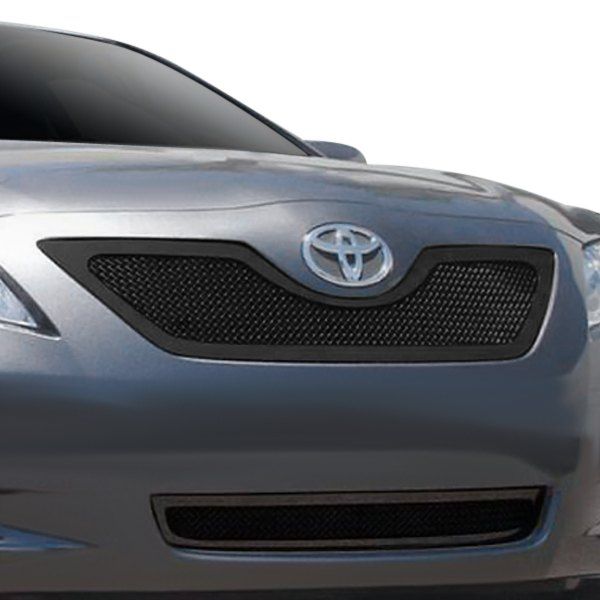 t rex toyota camry 2008 1 pc upper class series black mesh grille. Black Bedroom Furniture Sets. Home Design Ideas