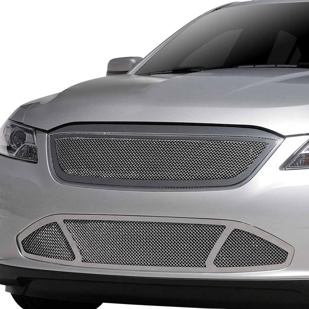 Taurus Perfect Match >> T-Rex® - Ford Taurus SHO 2012 1-Pc Upper Class Series Polished Formed Mesh Grille