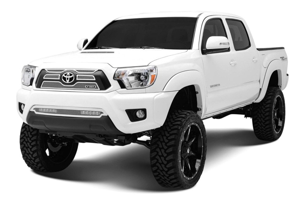 T-Rex® - Toyota Tacoma 2012-2013 4-Pc Upper Class Series Polished Mesh Grille