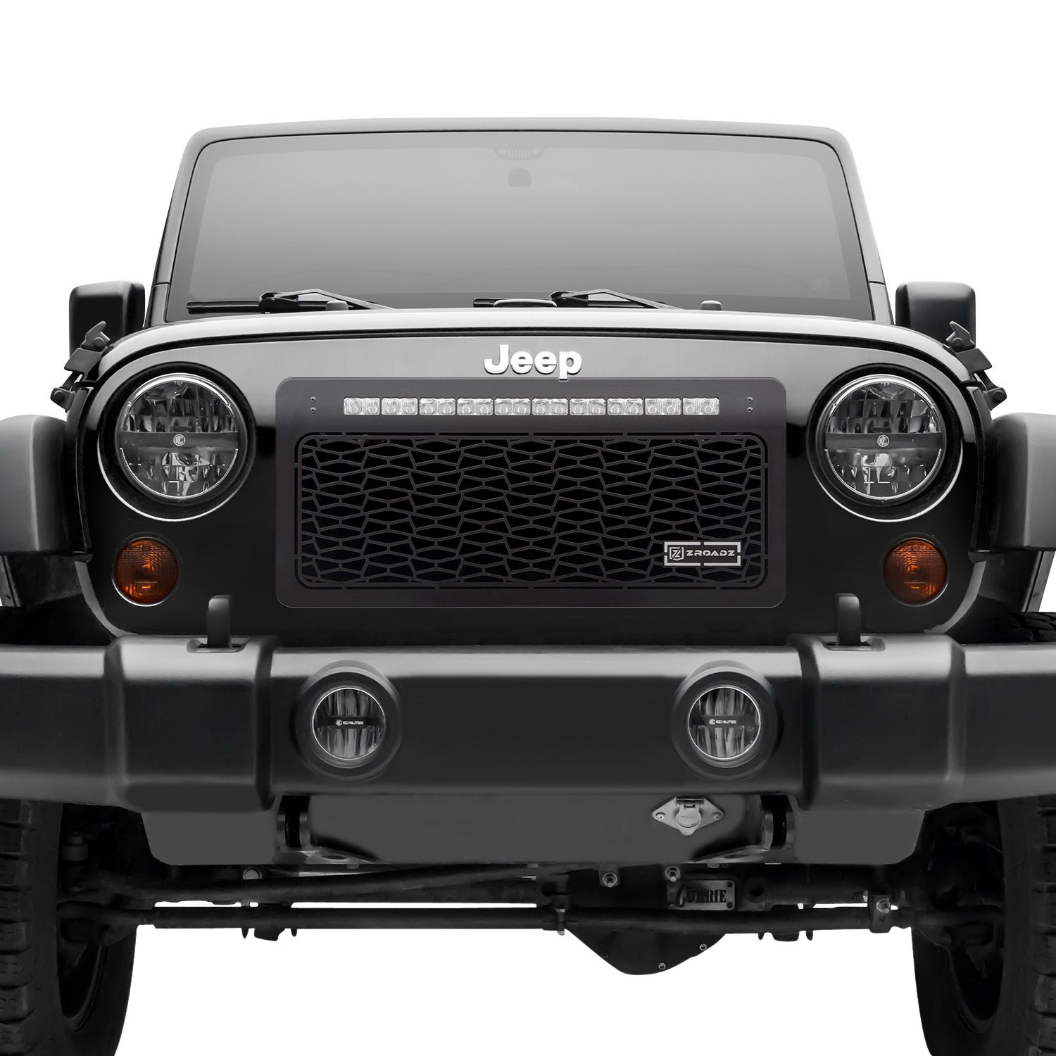 Jeep Wrangler 2007 ZROADZ Series LED Black CNC
