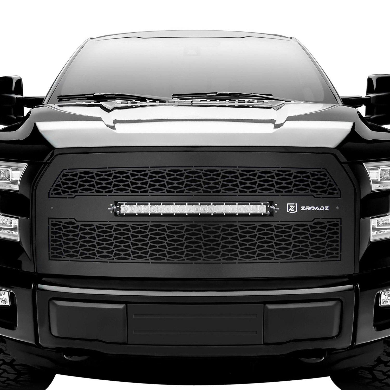 T Rex 174 Ford F 150 2015 Zroadz Series Black Cnc Machined