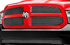 T-Rex® - Chrome Billet Grille on Dodge Ram