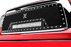 T-Rex® - X-Metal Torch Series Mesh Grille on Toyota Tacoma