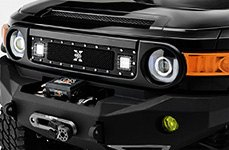 T-Rex® - X-Metal Torch Series Mesh Grille on Toyota FJ Cruiser