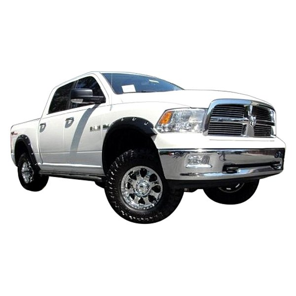 dodge ram 1500 2009 2014 g2 pocket rivet textured fender flares. Cars Review. Best American Auto & Cars Review