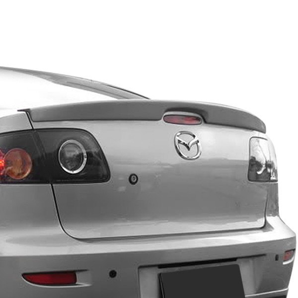 t5i mazda 3 sedan 2005 factory style rear lip spoiler. Black Bedroom Furniture Sets. Home Design Ideas