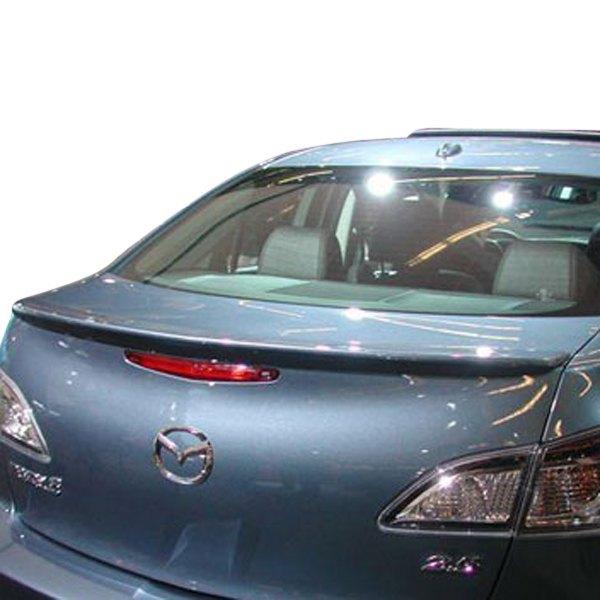 2010 Mazda Mazda3 Camshaft: Mazda 3 Sedan 2010-2013 Factory Style Rear Lip Spoiler