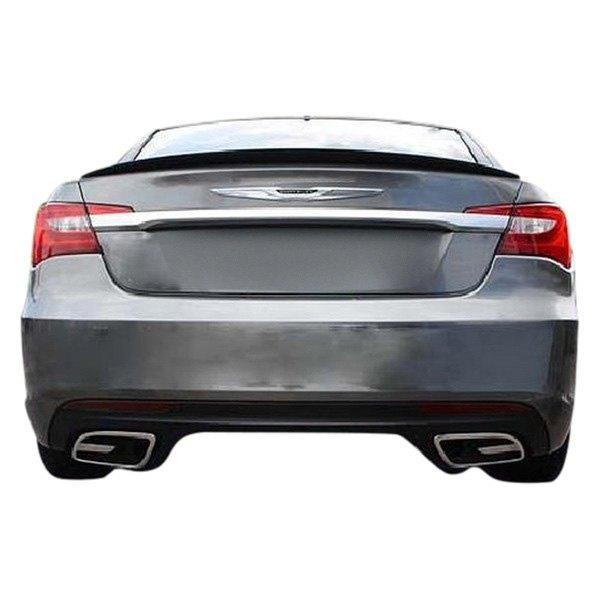 Chrysler 200 Sedan 2014 Factory Style Rear Lip Spoiler