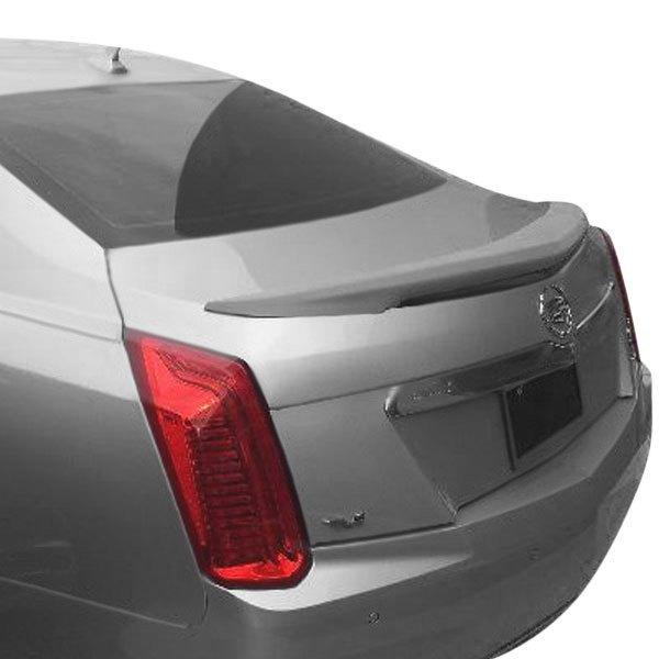 Cadillac CTS Sedan 2014-2016 Custom Style Rear Lip