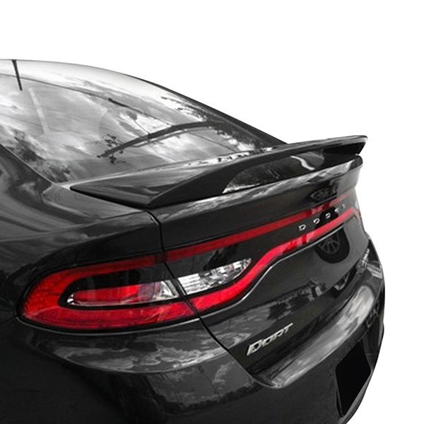 t5i dodge dart 2015 custom style fiberglass rear spoiler. Black Bedroom Furniture Sets. Home Design Ideas