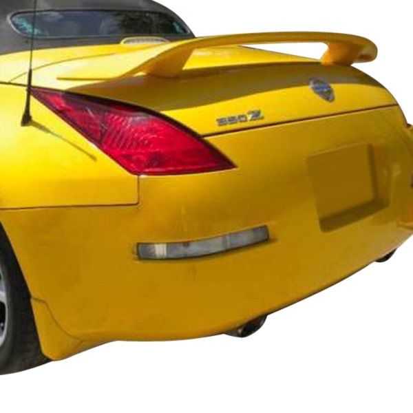 t5i nissan 350z 2004 2009 custom style rear spoiler. Black Bedroom Furniture Sets. Home Design Ideas