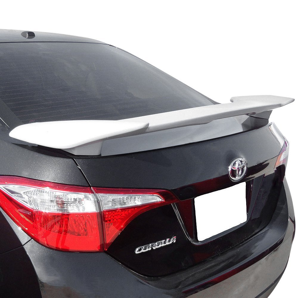 t5i toyota corolla sedan 2015 custom style rear spoiler. Black Bedroom Furniture Sets. Home Design Ideas