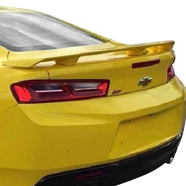 For Chevy Camaro 16-19 T5i Factory Style Fiberglass Rear Spoiler Unpainted