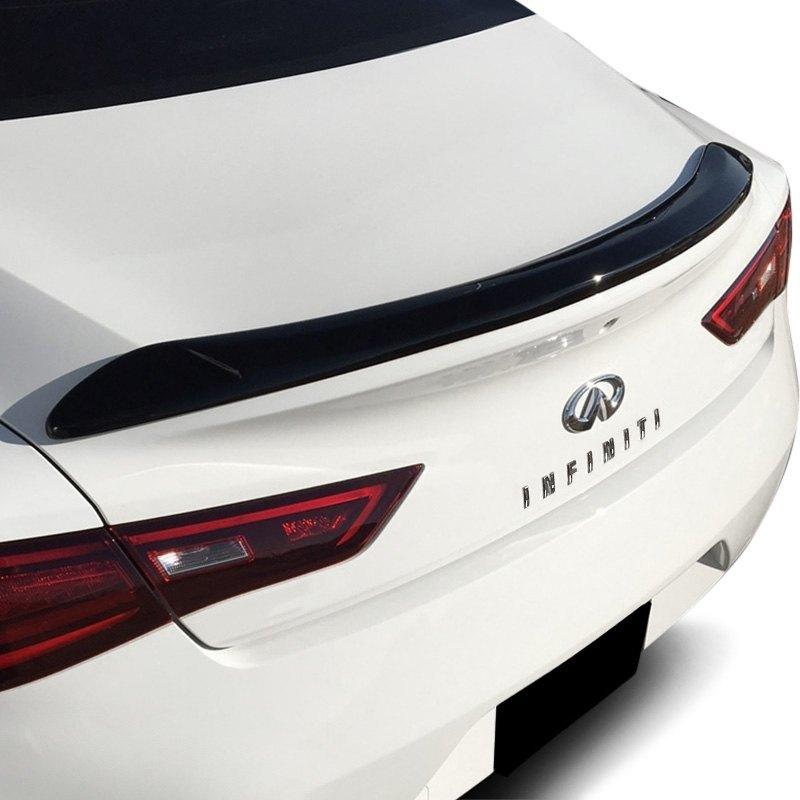 2017 Infiniti Q60 Exterior: Infiniti Q60 2017-2018 Custom Style Fiberglass Rear