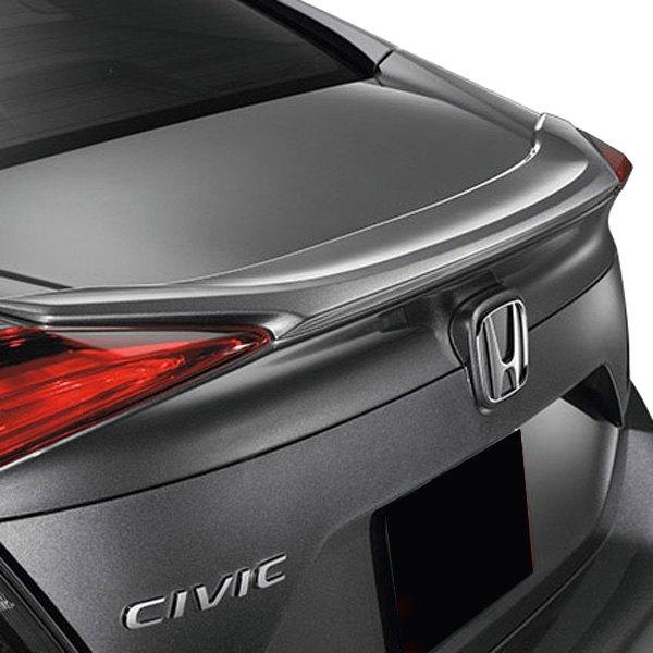 T5i® - Honda Civic Sedan 2016-2017 Factory Style Fiberglass Rear Lip Spoiler