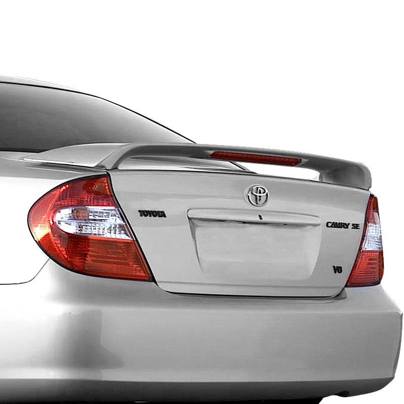 t5i toyota camry 2002 2006 factory style rear spoiler with light. Black Bedroom Furniture Sets. Home Design Ideas