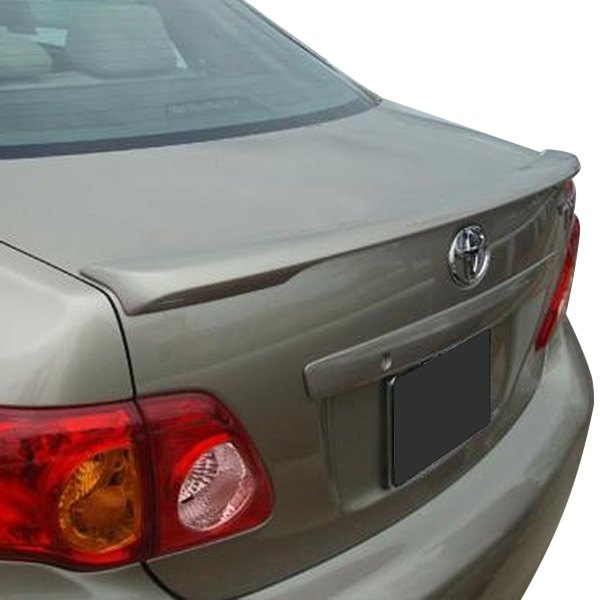 t5i toyota corolla 2010 factory style rear lip spoiler. Black Bedroom Furniture Sets. Home Design Ideas