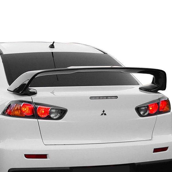 2013 Mitsubishi Lancer Exterior: Mitsubishi Evolution 2008-2015 Factory Style Rear