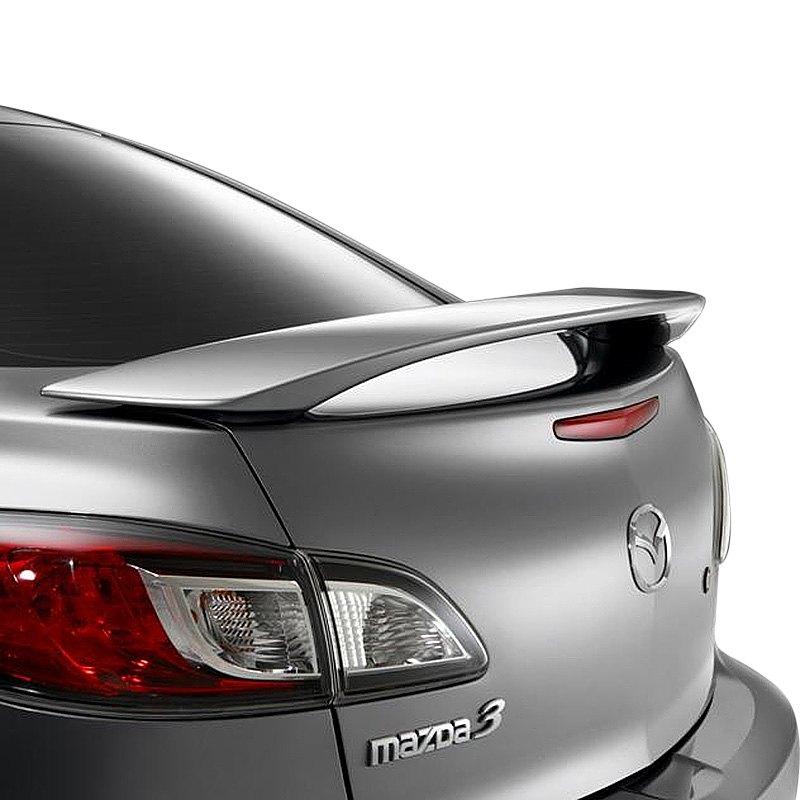 t5i   mazda 3 sedan 2010 2013 factory style rear spoiler