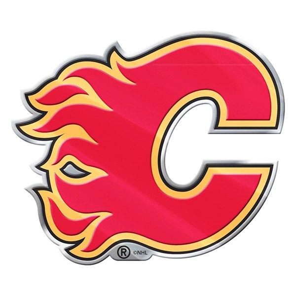 """Calgary Flames"" Colored NHL Emblem"