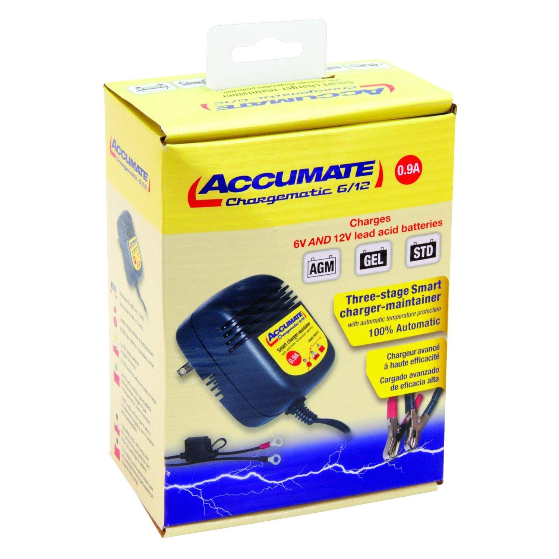 tecmate tm 84 6v 12v accumate mini battery maintainer. Black Bedroom Furniture Sets. Home Design Ideas