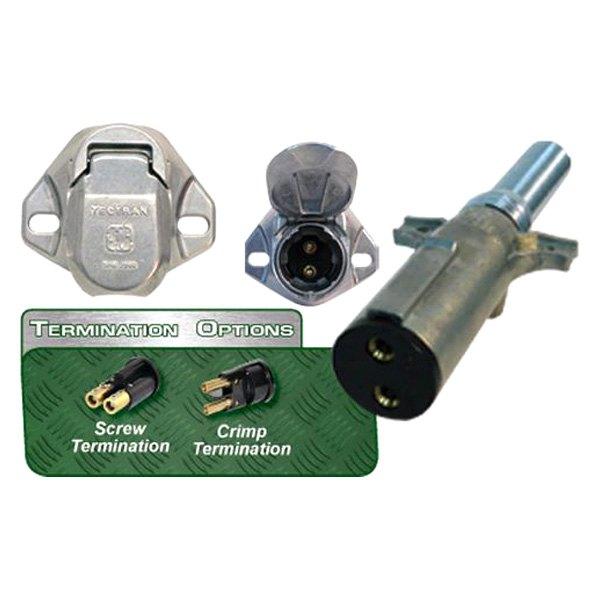 Tectran sg dual pole vertical buffalo plugs and