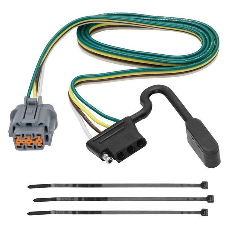 Tekonsha Nissan Frontier 2006 Towing Wiring Harness Connectors Tow