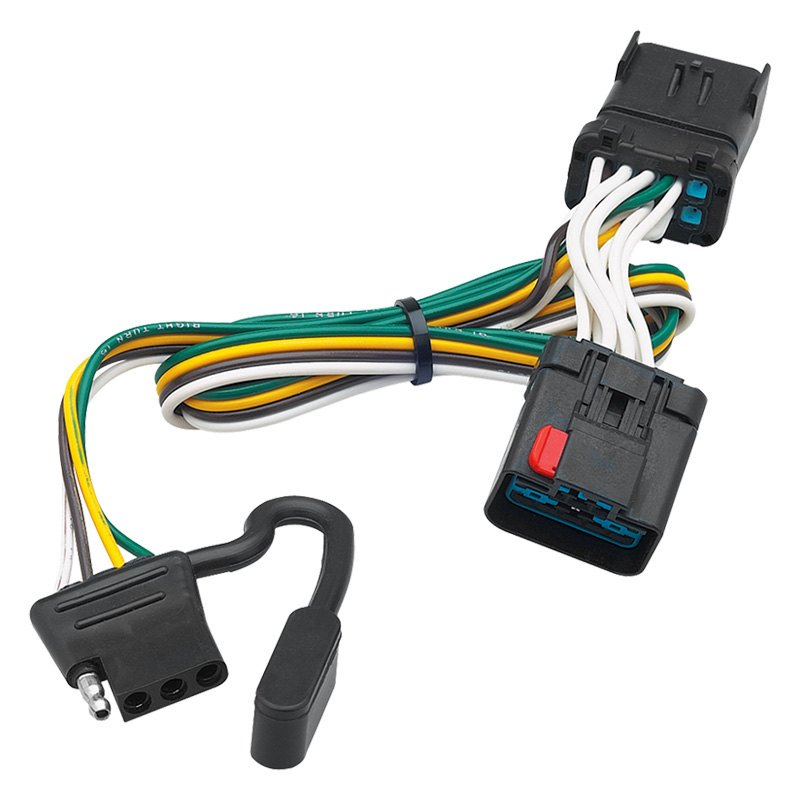 draw tite wiring harness draw-tite 118381 - towing wiring harness 300w led wiring harness in 3m length relay switch button motorcycle wiring harness