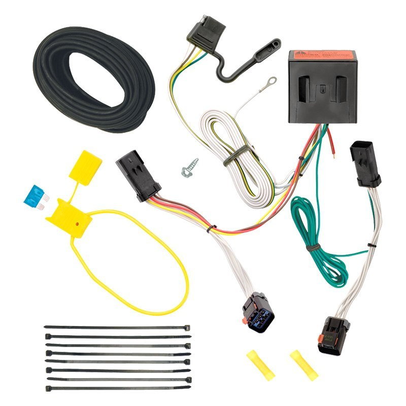 Trailer Wiring Harness Installation 2004 Jeep Liberty : Tekonsha jeep liberty towing wiring harness