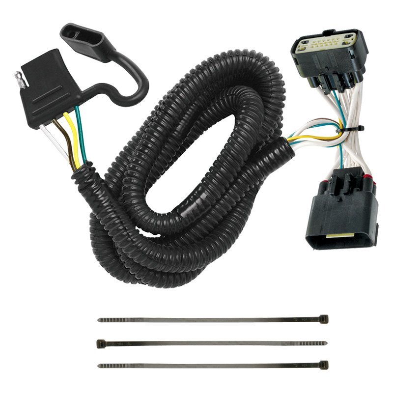 tekonsha® ford explorer 2017 towing wiring harness rv wiring harness tekonsha® t one connector