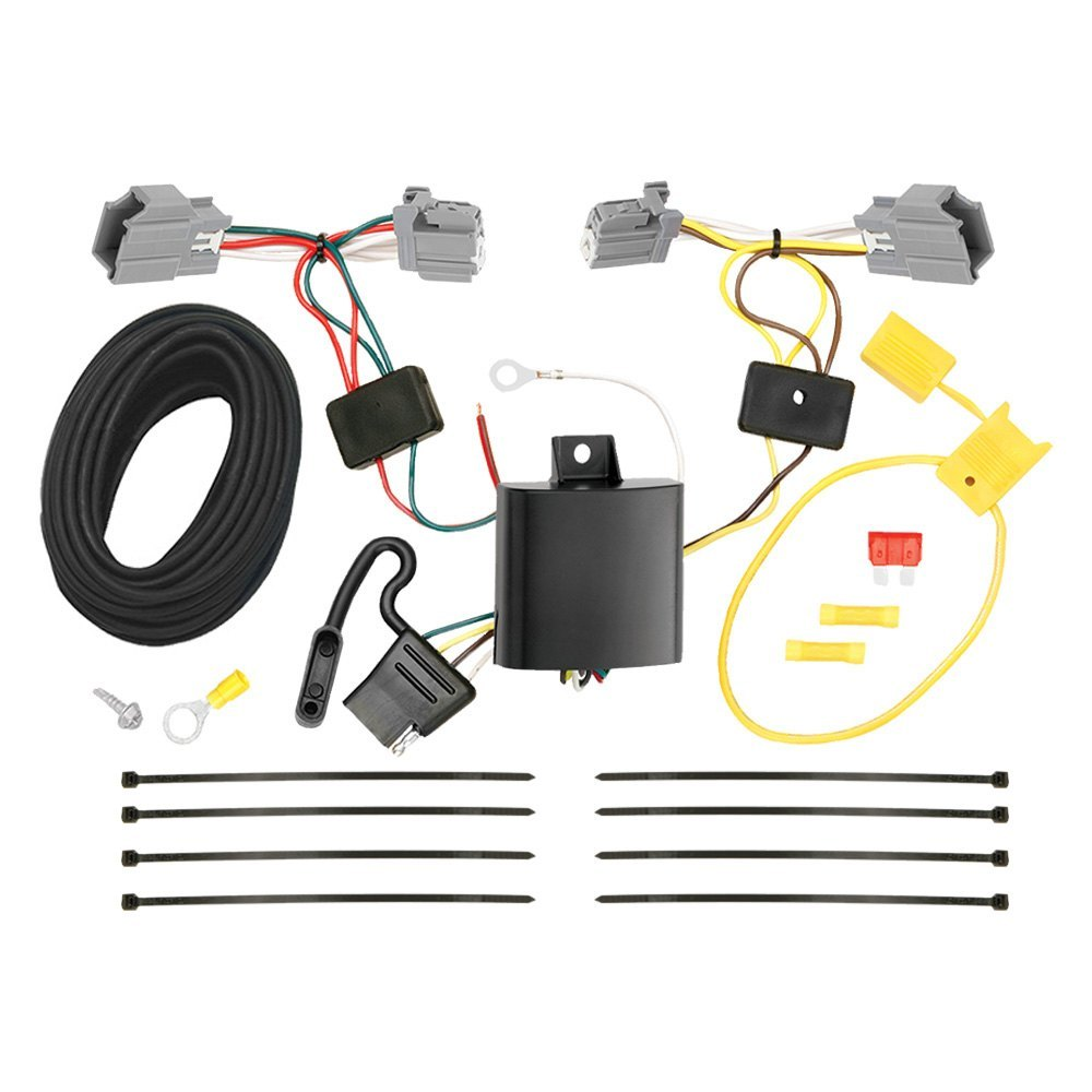 Tekonsha Ford Focus 2017 T One Connector Wiring Connectors