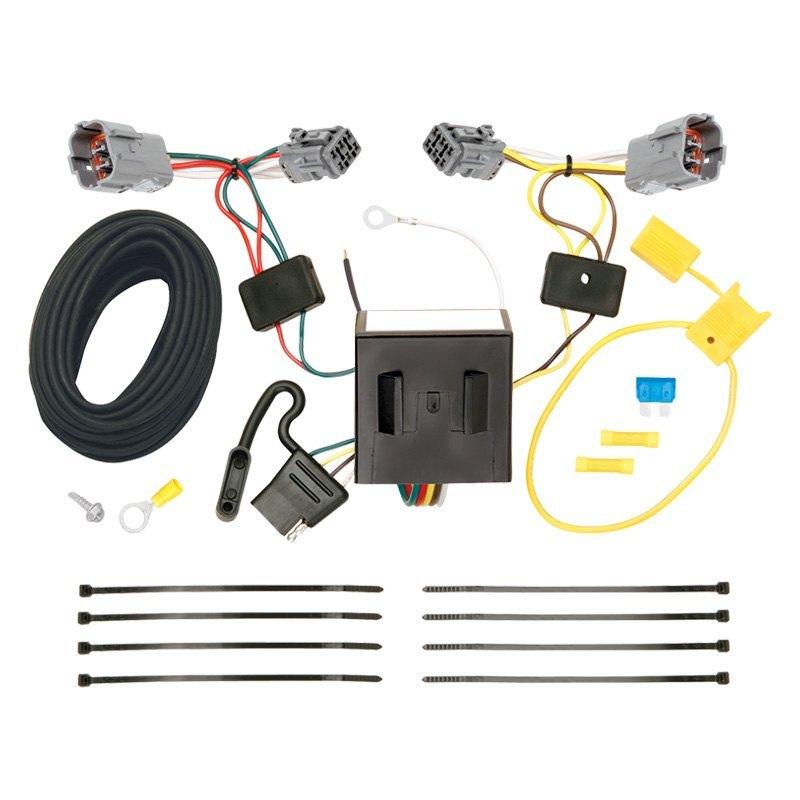 for hyundai santa fe 13-18 towing wiring harness t-one ... hyundai wiring harness connectors dodge ram wiring harness connectors #13
