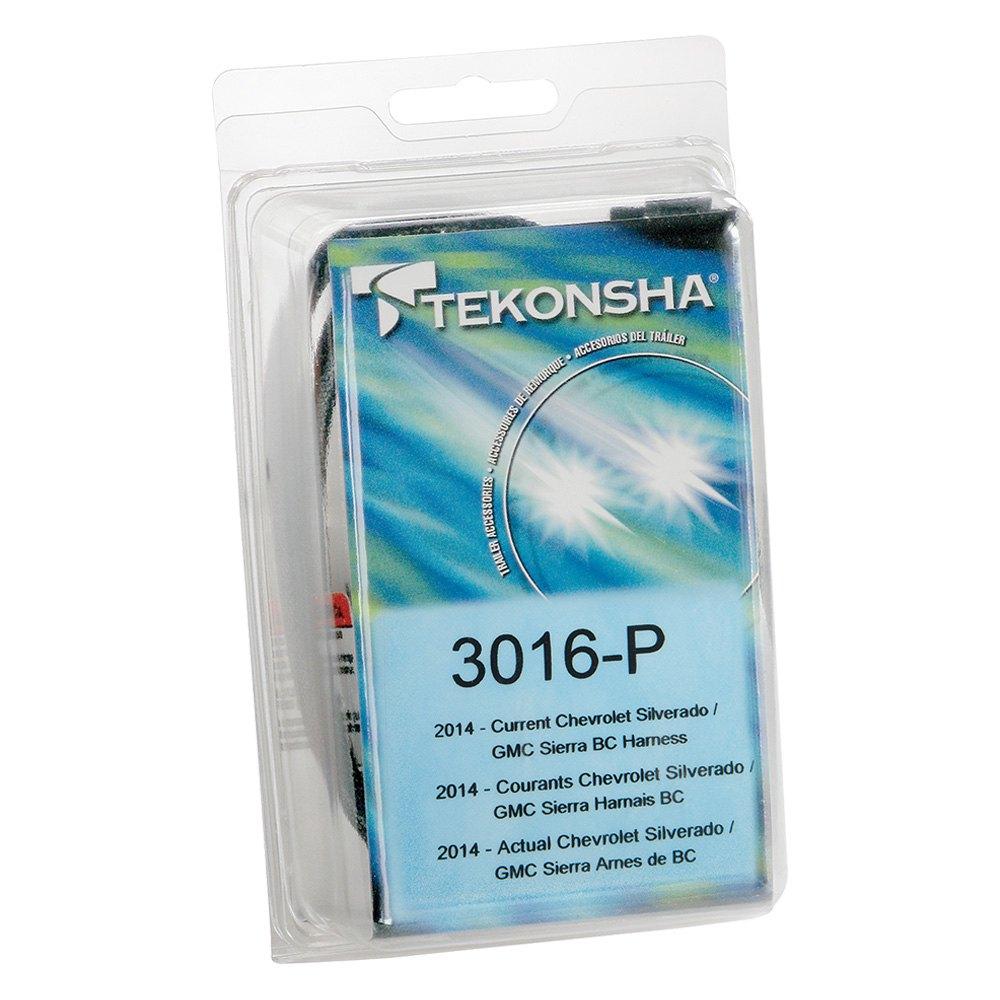 Tekonsha 3016 P 2 Plug Brake Control Wiring Adapter Prodigy Controller Gmc