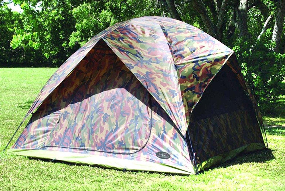 Texsport® - Headquarters Camouflage 5-Person Square Dome TentTexsport® ... & Texsport® 01333 - Headquarters Camouflage 5-Person Square Dome Tent