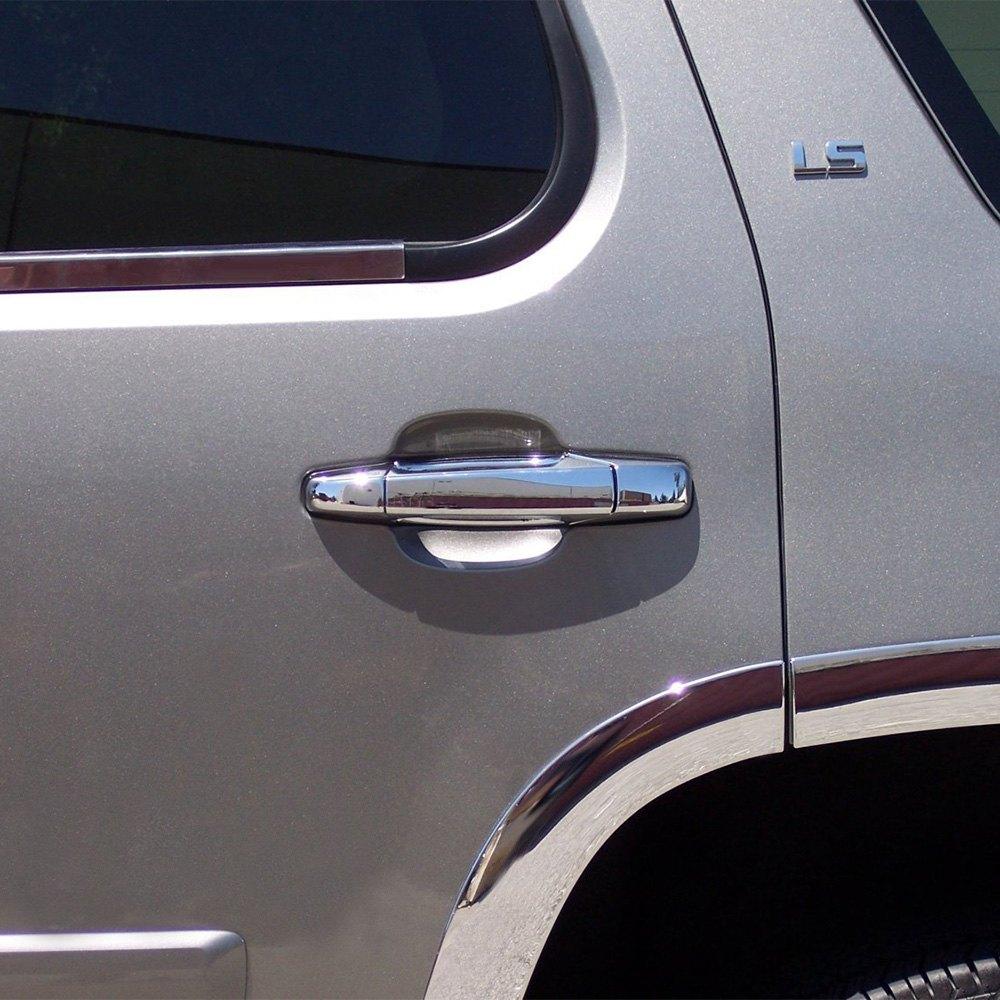 Tfp chevy avalanche 2012 valutrim chrome plastic door 2012 chevy silverado interior door handle