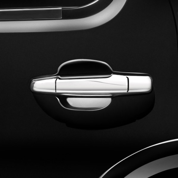Tfp Chevy Silverado 2007 Stainless Steel Chromed Door Handle Cover Set