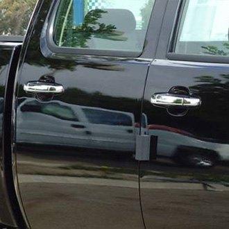 Tfp chevy silverado 2008 2009 valutrim chrome plastic for 03 silverado door handle replacement