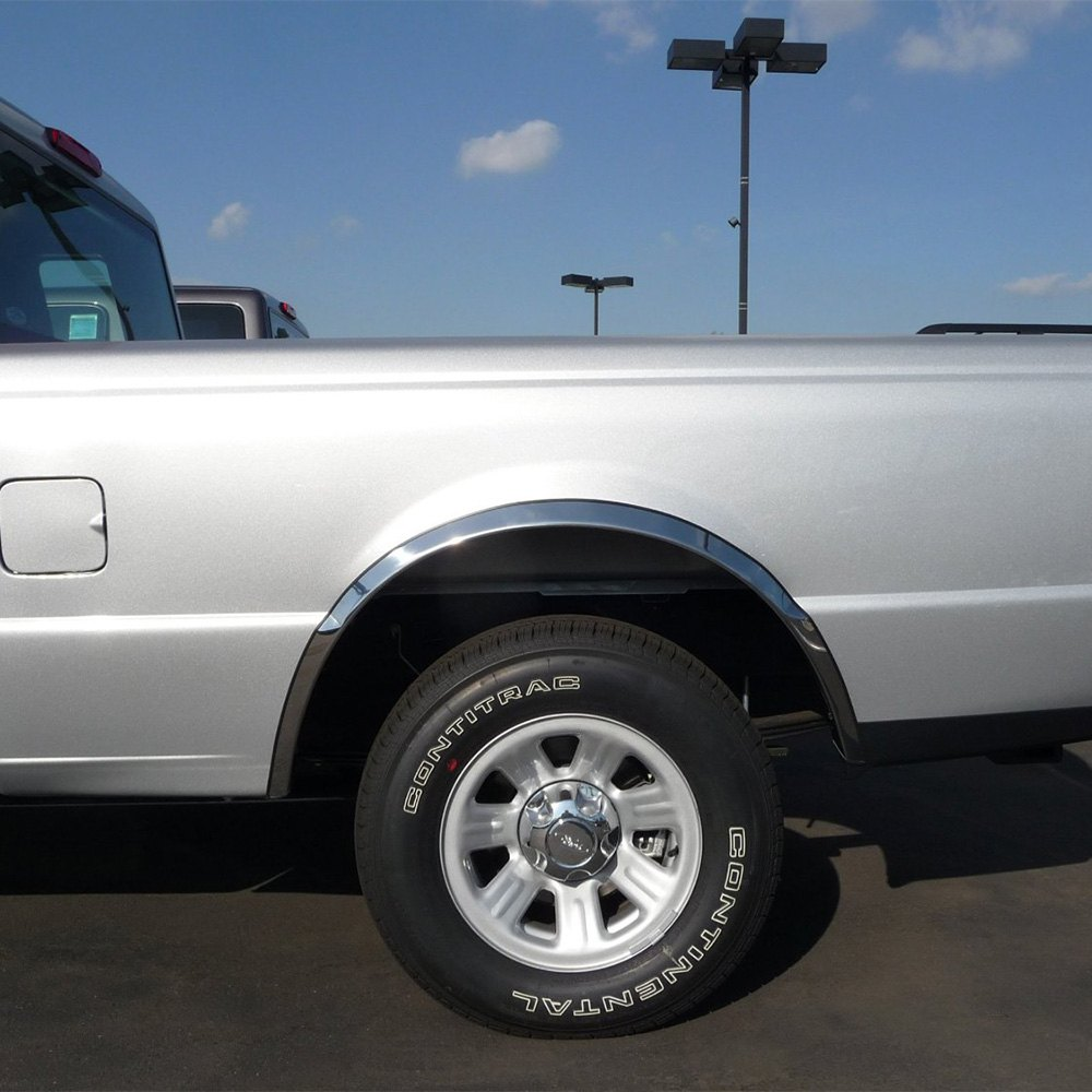 Antique Ford Fenders : Tfp cl ford bronco classic fender trim