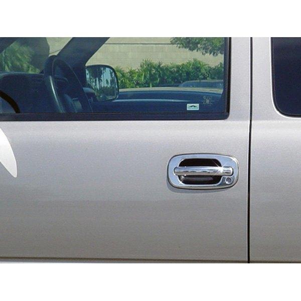 Tfp chevy silverado 2 doors 1999 stainless steel door for 03 silverado door handle replacement