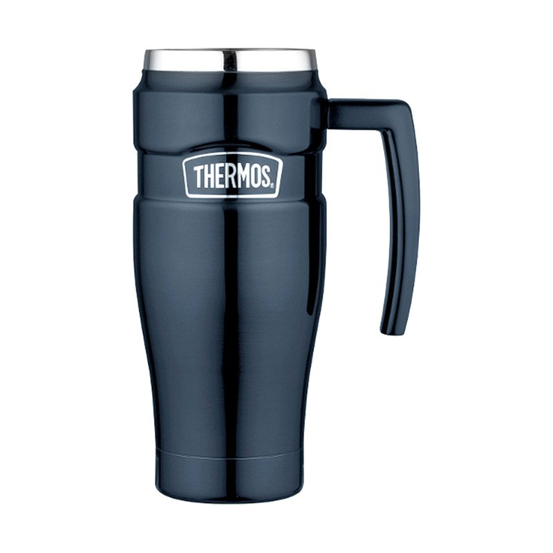 Thermos sk1000mbtri4 stainless steel king travel mug 16 oz - Thermos a the ...