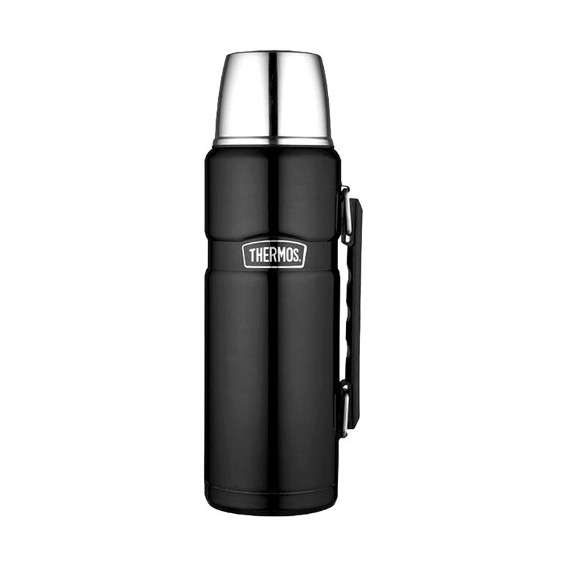 thermos sk2010mbtri4 stainless king beverage bottle 40 oz. Black Bedroom Furniture Sets. Home Design Ideas