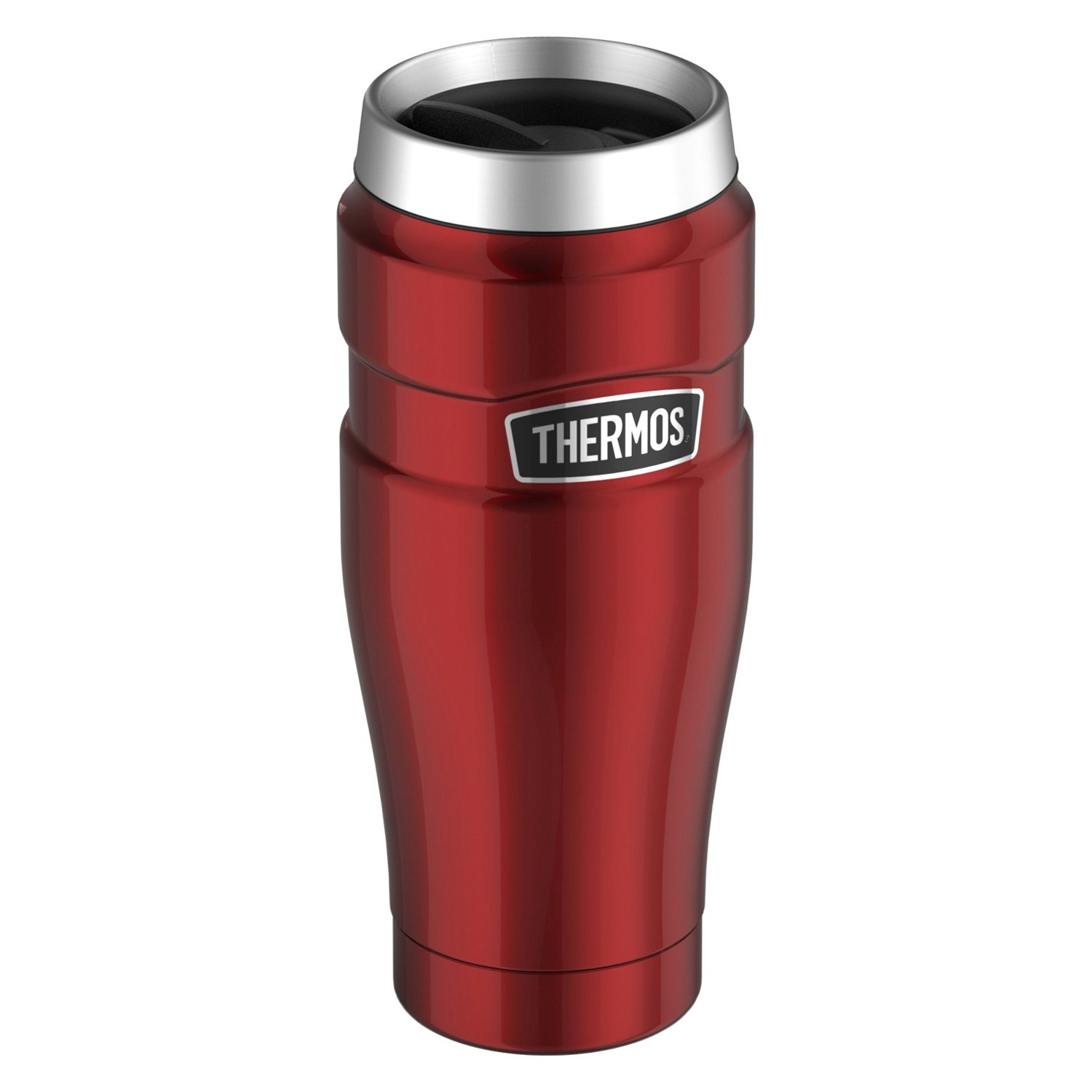 thermos stainless king vacuum insulated 16 oz travel tumbler. Black Bedroom Furniture Sets. Home Design Ideas