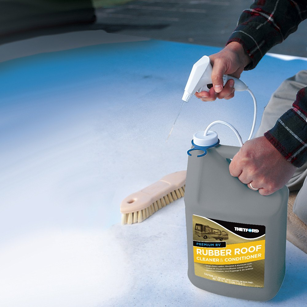 Thetford 174 Premium Rubber Roof Spray Cleaner Camperid Com