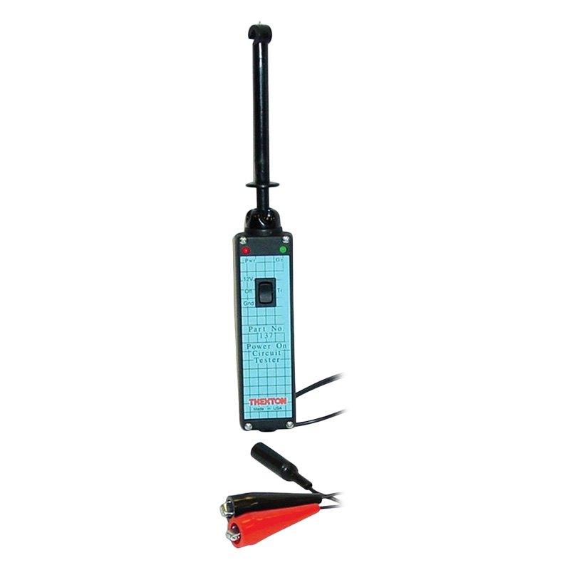 thexton u00ae 137 - power on circuit tester