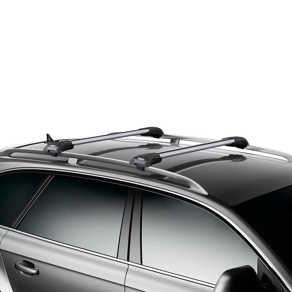 thule subaru wrx wagon 2002 aeroblade edge raised rail. Black Bedroom Furniture Sets. Home Design Ideas
