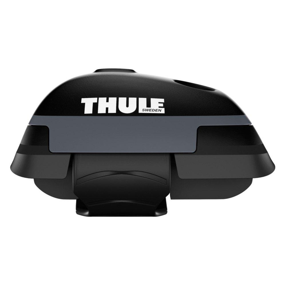 thule 7504b aeroblade black edge raised rail rack 1 bar. Black Bedroom Furniture Sets. Home Design Ideas