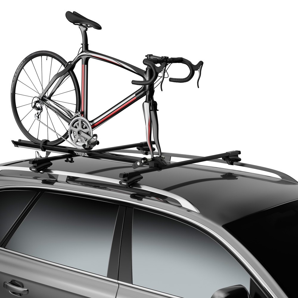 thule chevy impala 2006 prologue roof mount bike rack. Black Bedroom Furniture Sets. Home Design Ideas